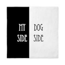 Dog Side My Side Queen Duvet
