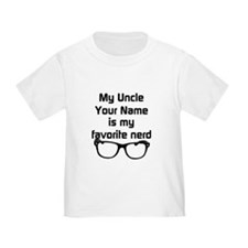 My Uncle Is My Favorite Nerd (Custom) T-Shirt