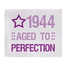 1944 Aged To Perfection Throw Blanket