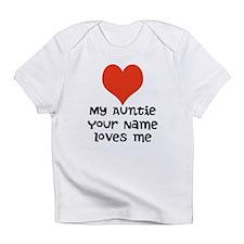 My Auntie Loves Me (Custom) Infant T-Shirt