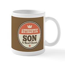Vintage Son Design Gift Mugs