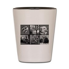 Photo Block to Personalize Shot Glass