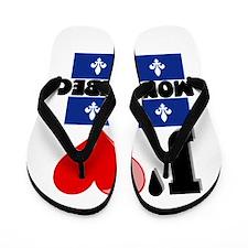 J'aime Mon Quebec Flip Flops
