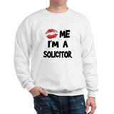 Kiss Me I'm A Solicitor Jumper