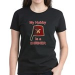 Hubby is a Shriner Women's Dark T-Shirt