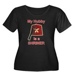 Hubby is a Shriner Women's Plus Size Scoop Neck Da