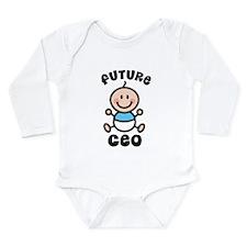 Future CEO Long Sleeve Infant Bodysuit
