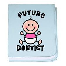 Future Dentist baby blanket