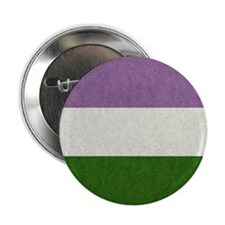"Genderqueer Flag 2.25"" Button (100 pack)"