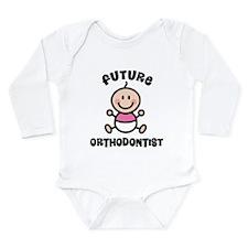 Future orthodontist Long Sleeve Infant Bodysuit