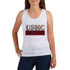 Red Friday/USMC Women's Tank Top