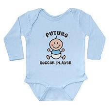 Future soccer player Long Sleeve Infant Bodysuit