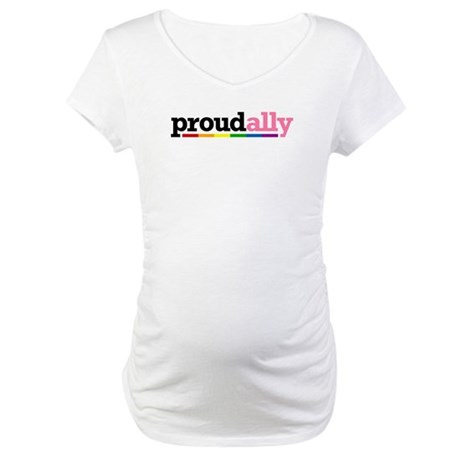 Proud Ally Maternity T-Shirt