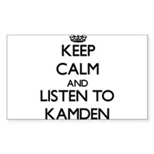 Keep Calm and Listen to Kamden Decal