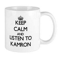 Keep Calm and Listen to Kamron Mugs