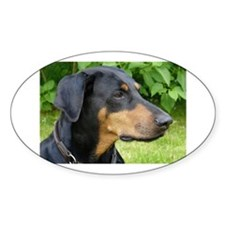 dobie 2 Decal