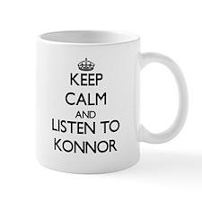 Keep Calm and Listen to Konnor Mugs