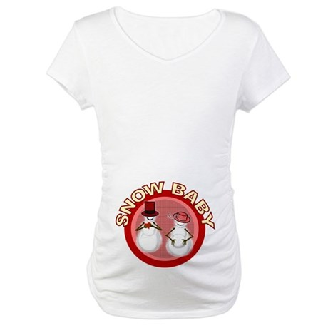 Snow Baby Maternity T-Shirt