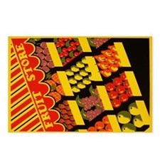"""""""Fruit Store"""" Postcards (Package of 8)"""