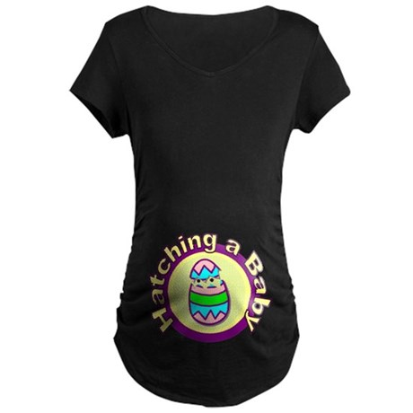 On the Nest Maternity Dark T-Shirt