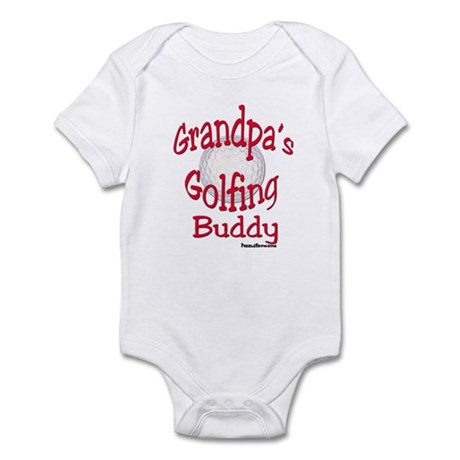 GOLFING GRANDPA'S BUDDY Infant Bodysuit