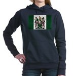 Rhodesia Flag Women's Hooded Sweatshirt