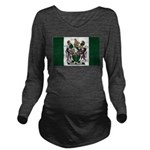 Rhodesia Flag Long Sleeve Maternity T-Shirt