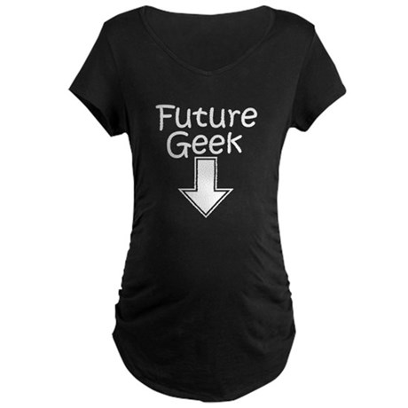 Future Geek Maternity Dark T-Shirt
