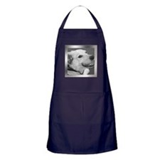 Your Photo in a Silver Frame Apron (dark)