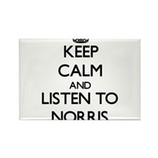 Keep Calm and Listen to Norris Magnets