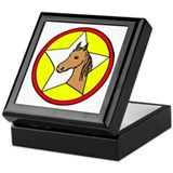 Barn Horse Hex Keepsake Box