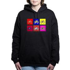 MTB Pop Art Women's Hooded Sweatshirt