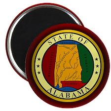 Alabama Seal Magnets