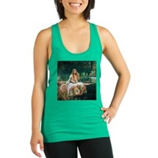 Waterhouse: Lady of Shalott Racerback Tank Top