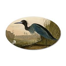 Audubon Blue Crane Heron from Birds of America Wal