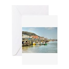 Bridlington Harbour Greeting Cards