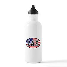 Lacrosse America Oval Sports Water Bottle