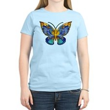 Tiffany Style Butterfly T-Shirt