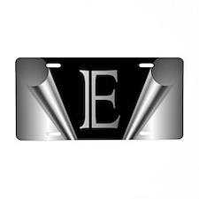 Steel Peel E Aluminum License Plate