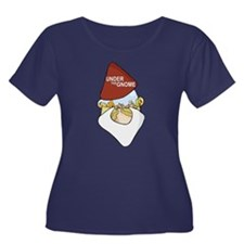 Under The Gnome Women's Scoop Plus Size T-Shirt
