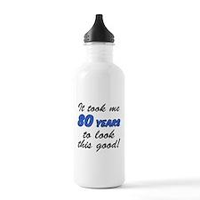Took Me 80 Years Drinkware Water Bottle