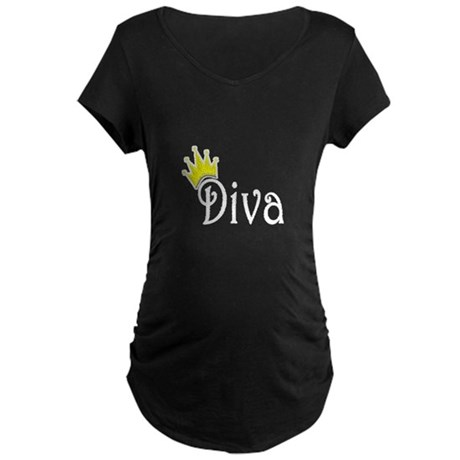 Diva Maternity Dark T-Shirt
