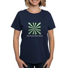 Medieval Celtic Knot Green Pe Tee