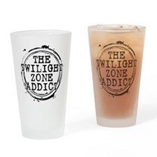 The Twilight Zone Addict Drinking Glass