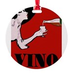 Vino Vintage Lady Ornament