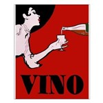 Vino Vintage Lady Posters