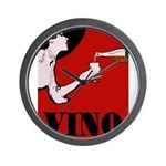 Vino Vintage Lady Wall Clock