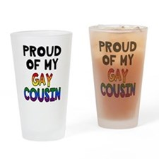 Gay Cousin Drinking Glass