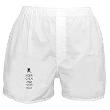 Keep Calm Dance Couple - Customize Boxer Shorts