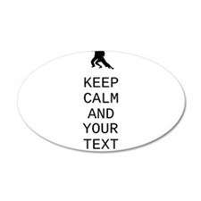 Keep Calm Dance Couple - Customize Wall Decal